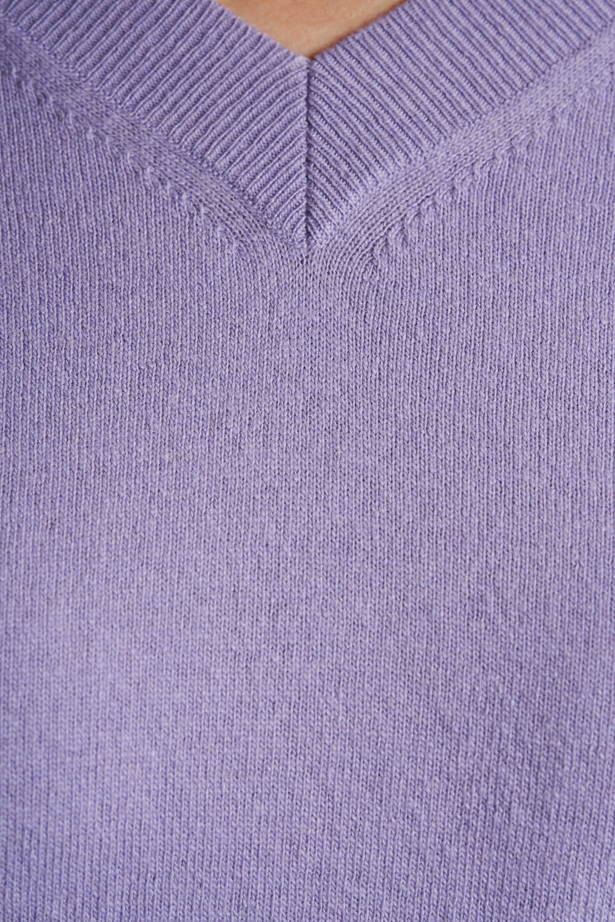 Pulover din tricot, Mov (3)